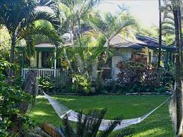 tiki hut cottage lush tropical garden wa vrbo