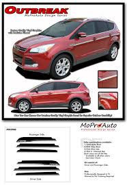 Ford Escape Colors - outbreak ford escape body line vinyl graphics decal stripe kit