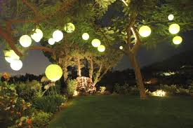 backyard party string lights home outdoor decoration