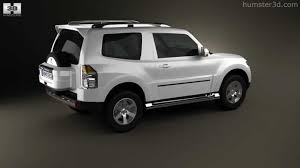 mitsubishi pajero 3door 2009 by 3d model store humster3d com youtube