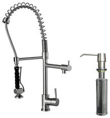 best stainless steel kitchen faucets stainless steel pull kitchen faucet fsck co