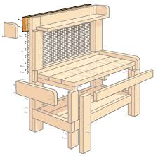 Redwood Potting Bench How To Build A Potting Bench Bench Hardware And Gardens