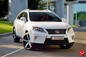 lexus rx black 2015 vossen wheels lexus rx vossen cv3r