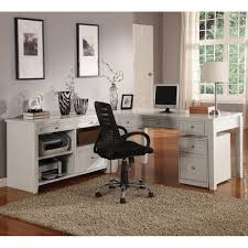 L Shaped White Desk by White L Shaped Computer Desk Decor Home And Garden Decor