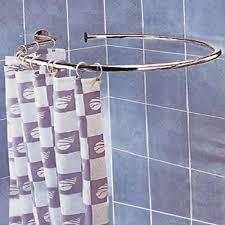 Oval Shower Curtain Rail Australia Shower Curtain Rail Circular Australia Curtain Design