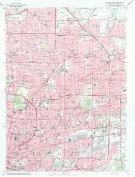 Usgs Quad Maps Home Buffalo New York In Maps Charts And Images Research