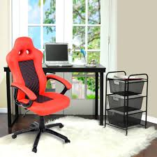 Bucket Seat Desk Chair Orange Racing Car Style Gaming Chair Gaming Chairs Chairs