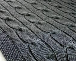 Wedding Gift Knitting Patterns Blanket Knitting Pattern Third Street Blanket Throw