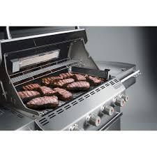 weber gas grills summit s 450 propane gas bbq grill w rotisserie