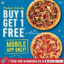 domino pizza tangerang selatan promo buy 1 get 1 domino s pizza jakarta selatan kemang