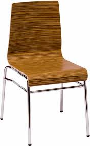 abby chair with zebrano laminate finish fki600chs zbl commercial
