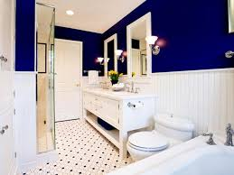 35 cobalt blue bathroom floor tiles ideas and pictures blue and