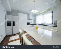 modern luxury kitchen interior modern luxury bright white kitchen stock photo 184910420