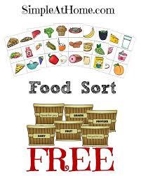 My Plate Worksheets Free Food Groups Sort Printables Food Groups Free Food And Group