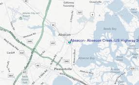 map us hwy absecon absecon creek us highway 30 bridge new jersey tide