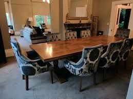 upholstered dining room chairs with casters padded arms fabric