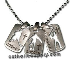 confirmation gift for boy sports dog tag