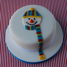 Christmas Cake Decorating Accessories by Really Cute Decoration And So Simple Whole Cakes Pinterest