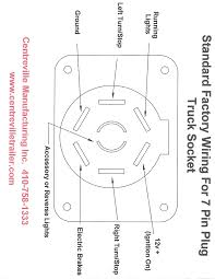 trailer lights wiring diagram australia within 7 pin round best