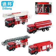 shop 4pcs lot juguetes fireman sam kids toys fire truck car