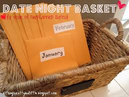 date basket pretty things date basket a year of pre planned dates