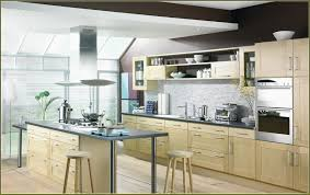 Light Birch Kitchen Cabinets Birch Cabinet Kitchens Stainless Steel Appliances Corner Sink
