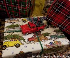 car wrapping paper unique gift wrapping idea for christmas featuring vintage cars