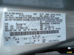 ford focus colour code 2012 focus color code ux for ingot silver metallic photo 68488270