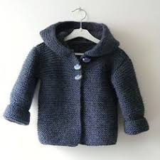 Knitting Pattern For Easy Baby Hooded Wrap Cardigan Quick And