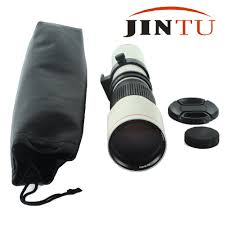 aliexpress com buy jintu white super 500mm f 8 0 f8 telephoto