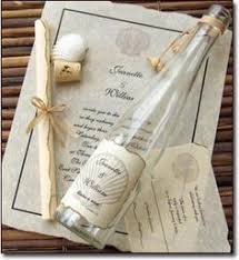 wedding invitations in a bottle painted palm leaves invitations www mospensstudio invites