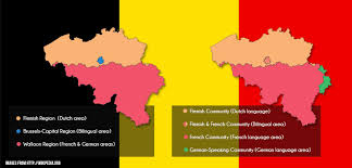 belgium language map 25 things facts that i learned while staying in