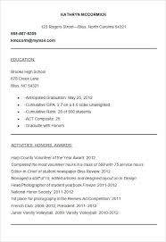 template for high resume for college admissions sle resume for college admission sle college admission
