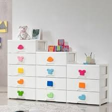 plastic storage cabinets with drawers qoo10 new arrival kids plus plastic storage made in korea cabinet