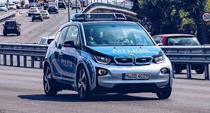 bmw 3i electric car picks up a bmw i3 tells tourists it s a