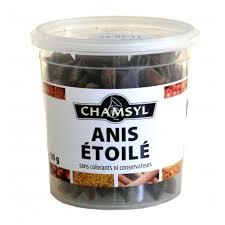 etoile de badiane cuisine badiane anis étoilée pot de 30 g boite litre de 180 g sachet 1