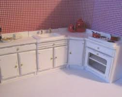 dollhouse furniture kitchen dollhouse kitchen etsy