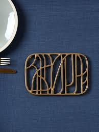 Decorative Metal Trivets Retro Chic Style