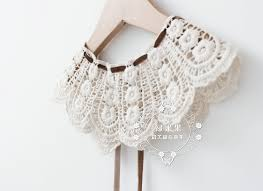 lace accessories classic baby girl lace collar cloth accessories for 2014