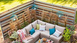 Fence Ideas For Patio Woven Outdoor Privacy Screen