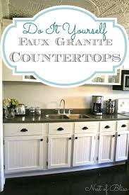 installing granite countertops on existing cabinets diy low cost update with huge impact easy gorgeous faux