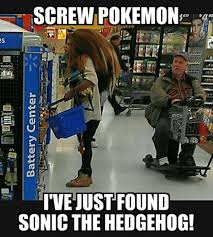 Sonic The Hedgehog Meme - screw pokemon i ve just found sonic the hedgehog funny dank