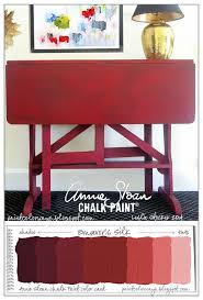 Studio Gate Leg Table 207 Best Chalk Paint In Emperor U0027s Silk Red Images On Pinterest