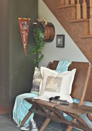 rustic farmhouse christmas mantel home for the holidays vin