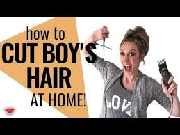 boy haircuts at home pictures on easy haircut at home cute hairstyles for girls