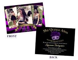 Sweet 15 Invitations Cards Masquerade Quinceanera Invitations U2013 Gangcraft Net