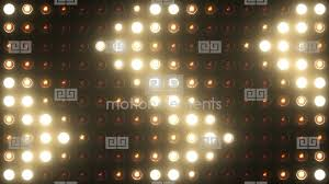 flashing lights bulb vj wall of lights stage 4k stock animation
