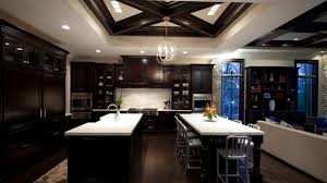 Beautiful Kitchen Colors With Dark Cabinets Home Design Lover - Dark kitchen cabinets