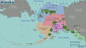 Alaska Road Map by Anchorage Alaska Cruise Ship Port Of Call Profile