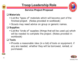 eagle scout service project fundamentals ppt download